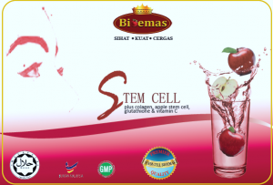 Stem Cell Bio Emas untuk kecantikan wajah, luaran dan dan dalaman