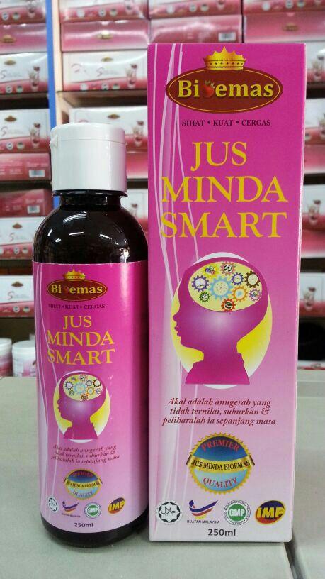 Jus Minda Smart Bio Emas Menjana Kecerdasan Minda