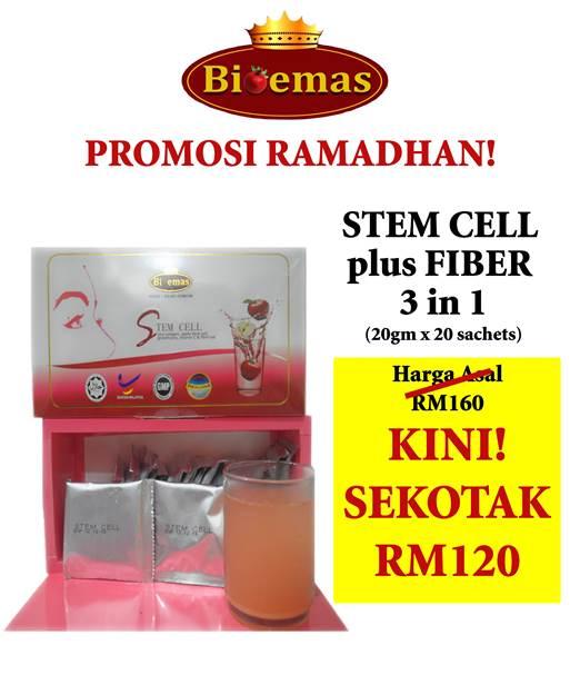 Harga Promosi Ramadhan Stem Cell Bio Emas