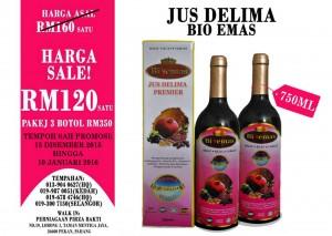 Jus Delima Bio Emas Minuman Kesihatan Terbaik Di Malaysia