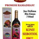 Harga Diskaun Ramadhan Jus Delima Bio Emas
